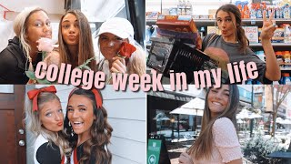 College week in my life | cheer performance, studying, valentine's day!