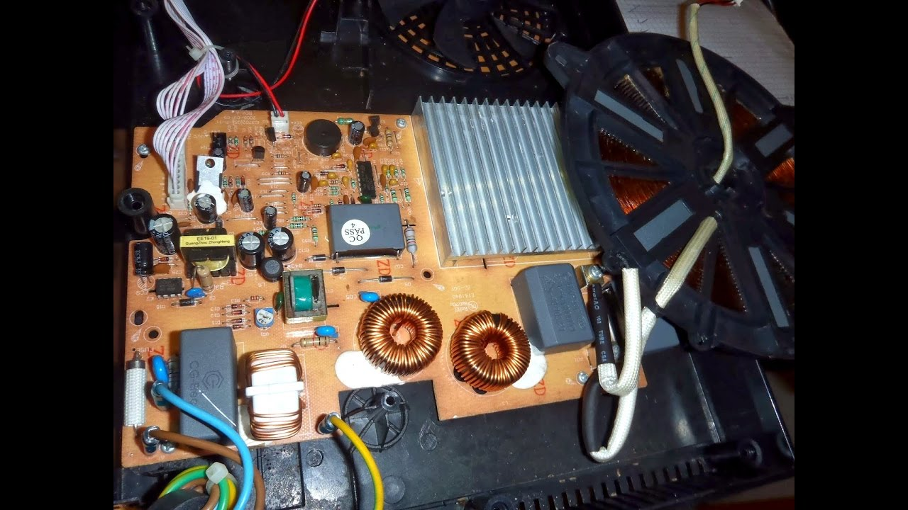 hight resolution of how to repair auto off induction cooker power problem