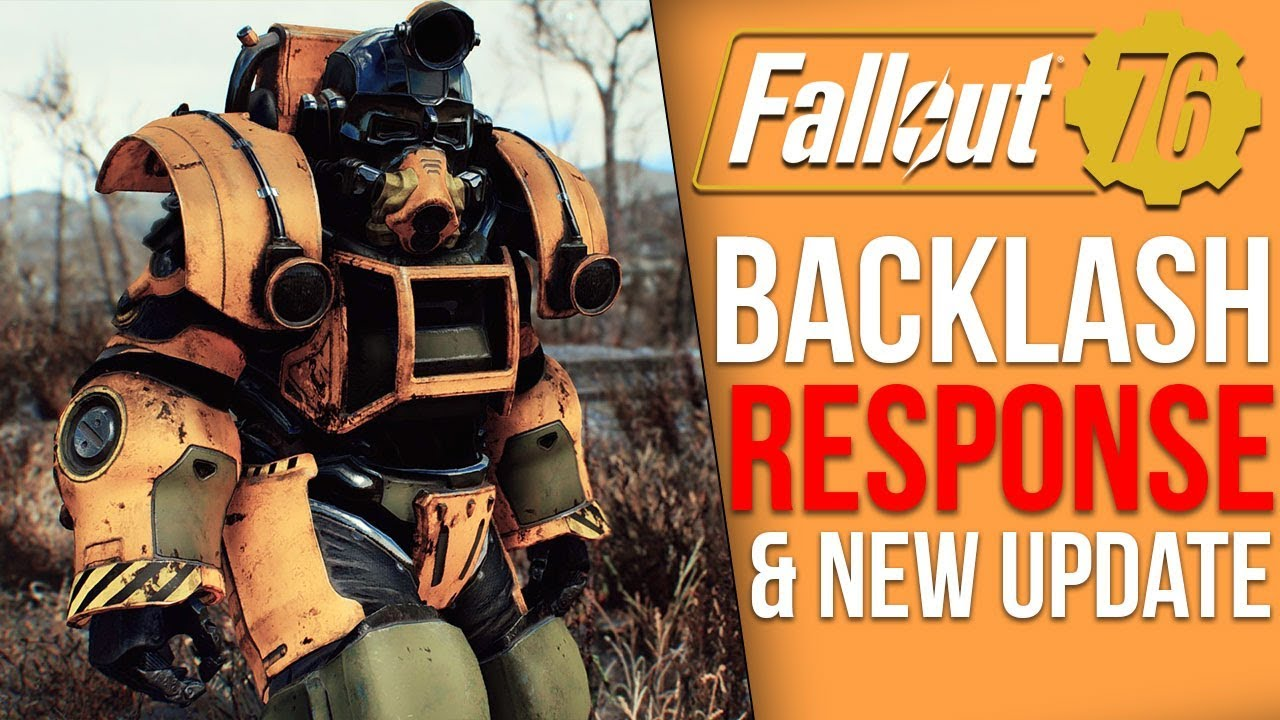 Fallout 76 News - Bethesda Response to Backlash, Potential Game Breaking  Bug, New Update Plans