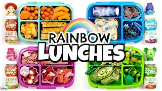 🌈COLORFUL Lunches Are BACK!🌈 Color Lunch Ideas