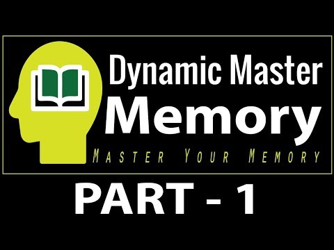 Dynamic Master Memory Online Workshop Part - 1 | By  MOYL TRAININGS
