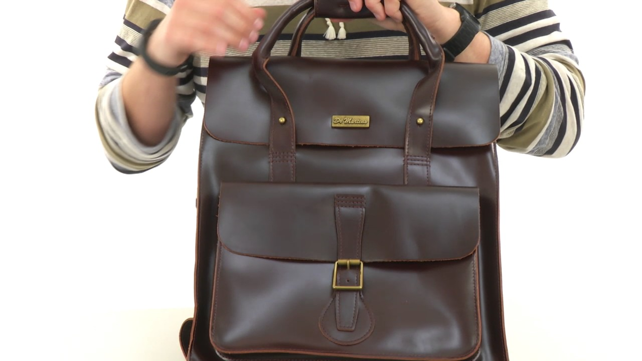 9a17eb4adf32 Dr. Martens Leather Backpack SKU:8873489 - YouTube