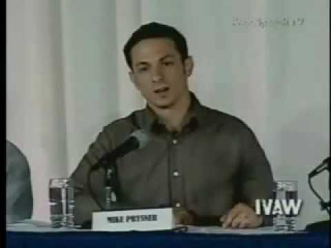 Winter Soldier Testimonials - Mike Prysner