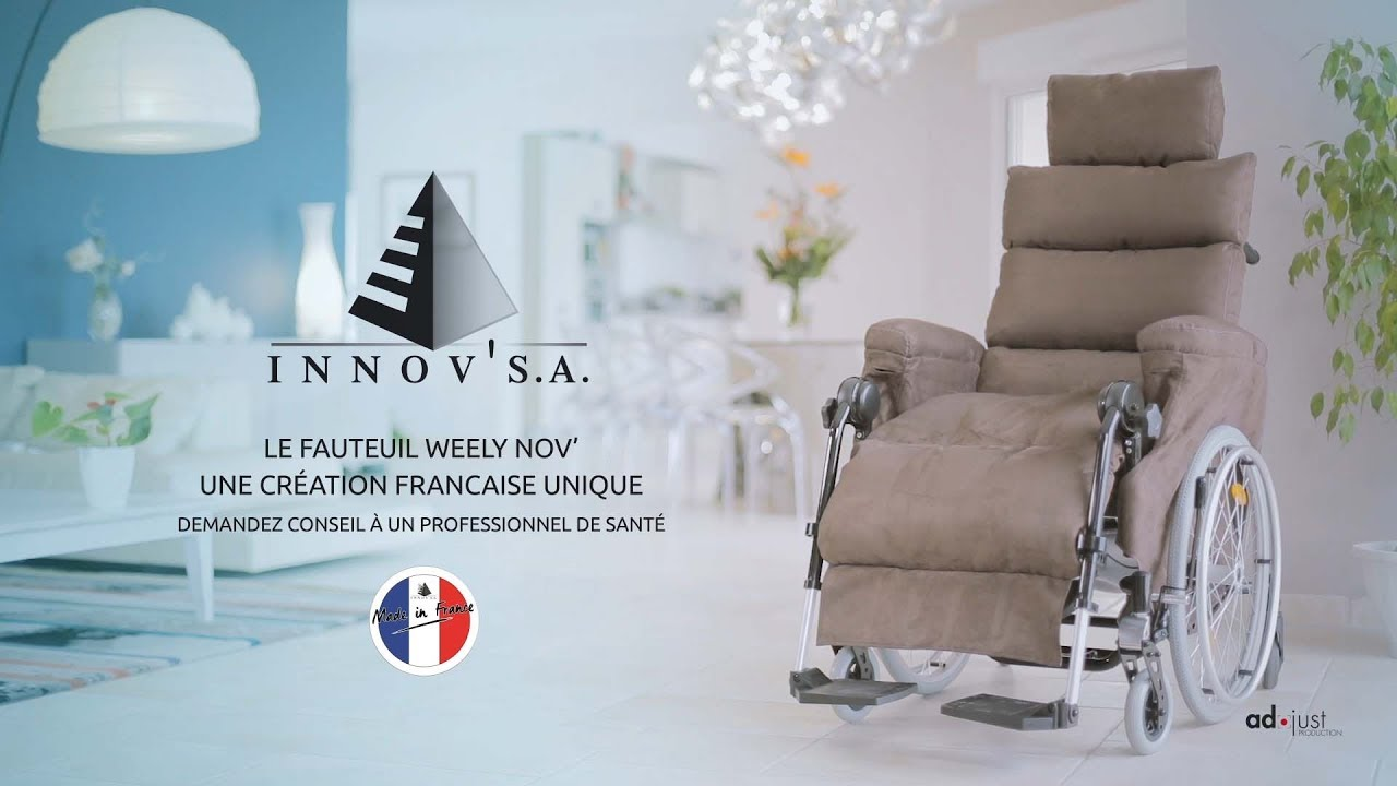 Fauteuil Roulant Manuel Weely Nov Film Technique Innov Sa Le Fauteuil Weely Nov
