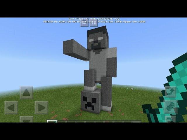 كيف تبني تمثال في ماين كرافت شبيه جدوا شايب Youtube