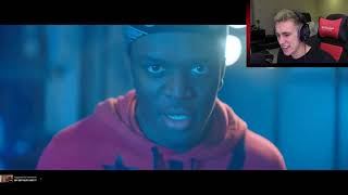 Youtubers react to KSI track Adam's Apple (Reaction Compilation)
