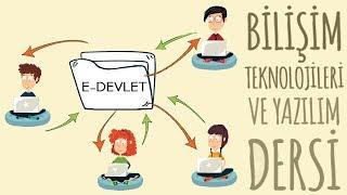 E-Devlet - Bilişim Teknolojileri Dersi