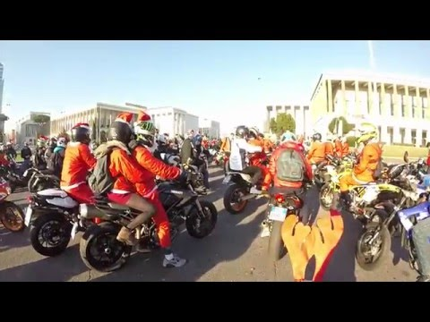 A little tour around Rome #8: Big Ride Roma 2015 Xmas Edition