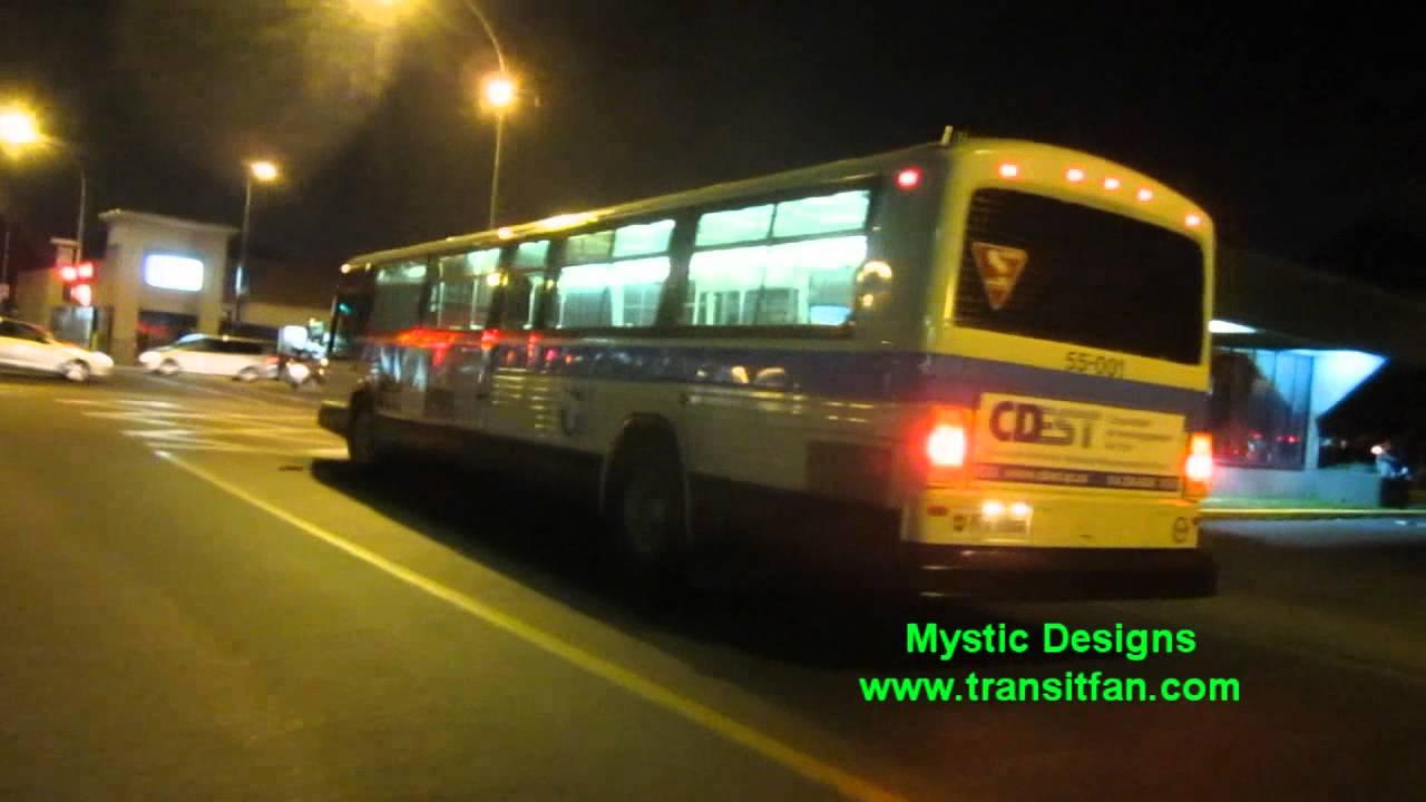 ex-STCUM Bus #55-001 - 1985 GM Classic - Night Departure ...