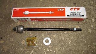 Замена рулевой тяги MITSUBISHI LANCER 9/Replace a tie rod