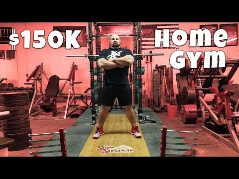 $150,000 HOME GYM TOUR | 4X WORLD'S STRONGEST MAN