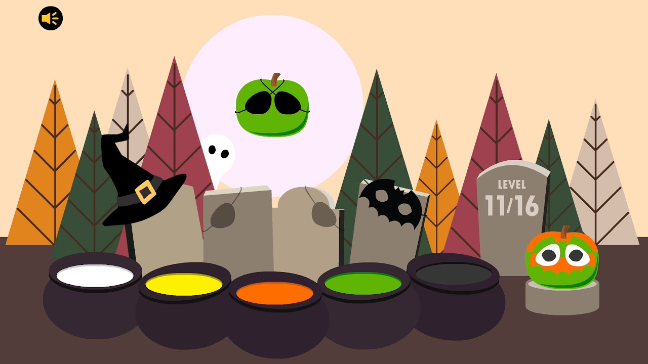 Boo! Halloween game from Bart Bonte Cool Math Games - YouTube