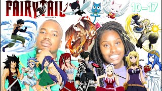 Japanese Anime Music Reaction | Fairy Tail Openings 10-17 Reaction |