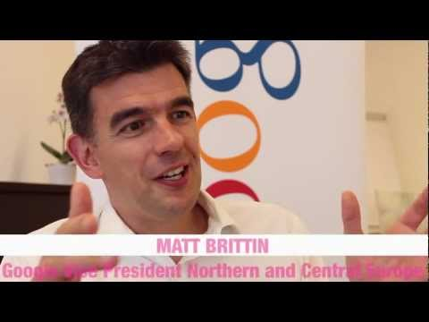 Interview mit Google Vice President Matt Brittin