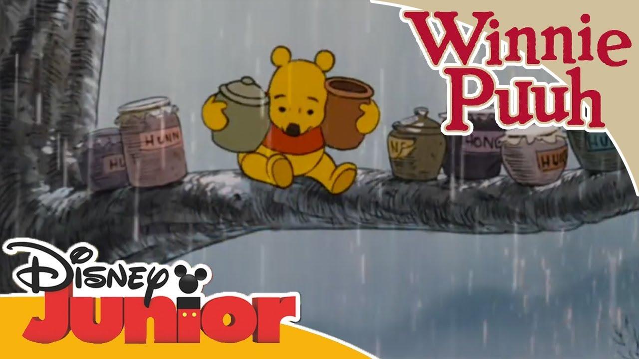 Kleine Abenteuer mit Winnie Puuh - Es regnet | Disney Junior - YouTube