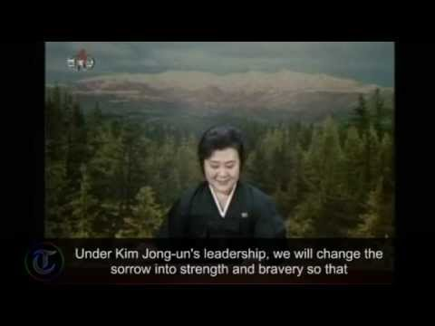 North Korean State TV announces the death of leader Kim Jong-il
