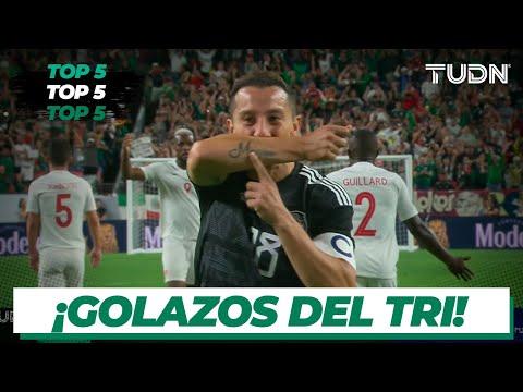 ¡Los mejores goles de la Selección Mexicana en la era Martino! | TUDN