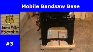 Mobile Bandsaw Base #3