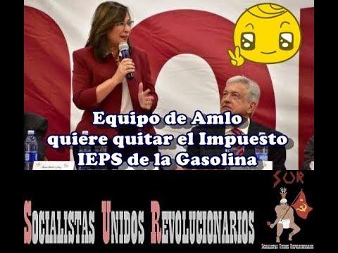 EL EQUIPO DE AMLO VALORA ELIMINAR EL IEPS A GASOLINAS