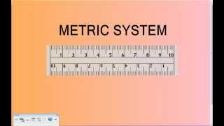 metric system tutorial