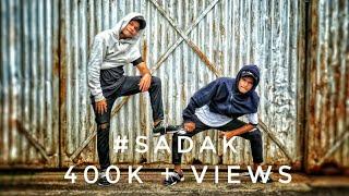 EMIWAY- #SADAK | Raftar | Swaraj nd Nikhil Dance Choreographyn|| Duet Brothers ||