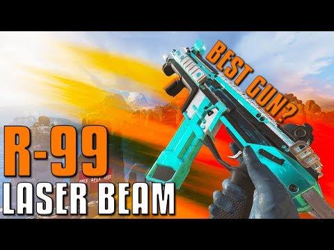 R-99 IS A LASER BEAM (My Favorite Gun) | Apex Legends