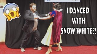 I Danced With Snow White! - Disneyland Impressions