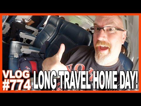 LONG TRAVEL HOME DAY! Galveston, Texas to Toronto, Canada