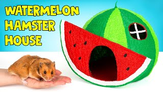 Using 3D Pen To Create A Watermelon House For A Hamster