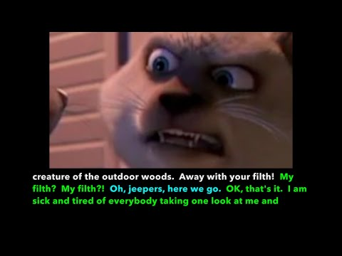 Learn/Practice English With MOVIES (Lesson #83) Title: Over The Hedge