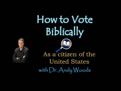 The Bible and Voting