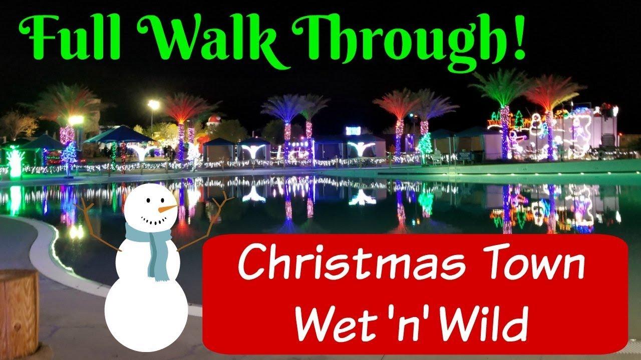 Christmas In Vegas.Christmas Town Wet N Wild Las Vegas