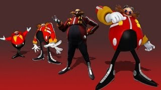eggman s themes over the years