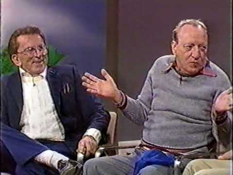 Huntz Hall and Gabe Dell 1987 Dead End Kids Bowery Boys Interview