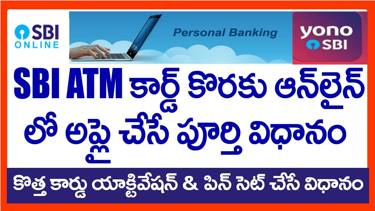how to sbi net banking apply