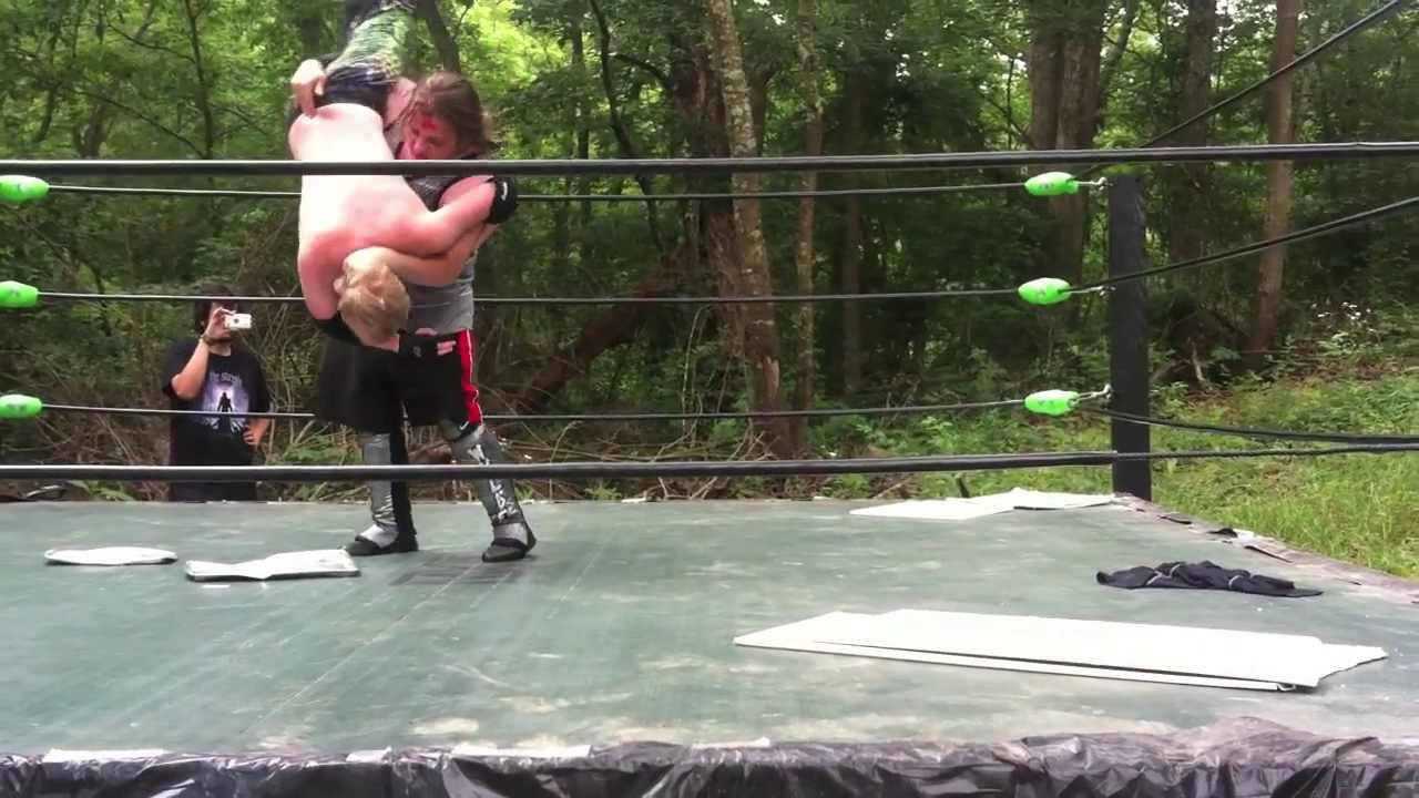 daniel rayne vs keith wylde mxw backyard wrestling title promo