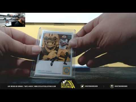 2018 Panini Encase Football Hobby Box Live Break- Firas