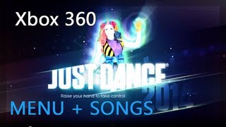 Just Dance 2014 - Xbox 360 | Show Menu + All Songs + Extras [PAL]