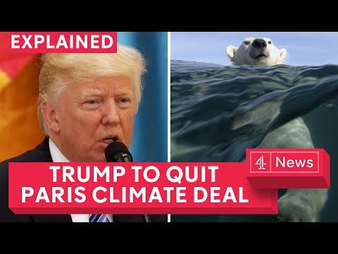 Does Trump pulling out of Paris climate deal matter, explained