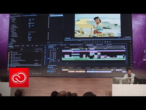 Cuts, Rhythm, and Life in Premiere Pro CC (NAB Show 2017) | Adobe Creative Cloud
