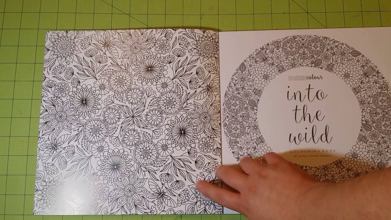 The Into Wild By Kaiser Colour Coloring Book Review Flip Through