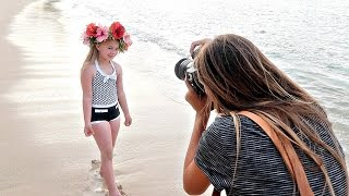 Hawaiian Princess Photoshoot
