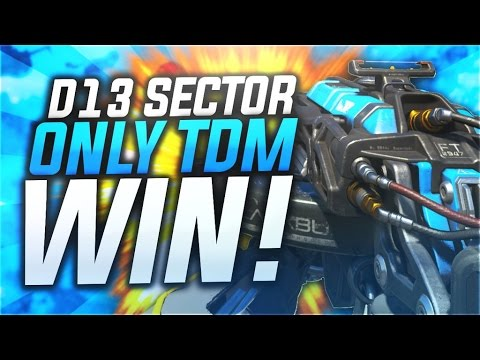 THE RETURN.. D13 SECTOR ONLY TEAM DEATHMATCH WIN! - SQUAD CHALLENGES ARE BACK! (BO3)