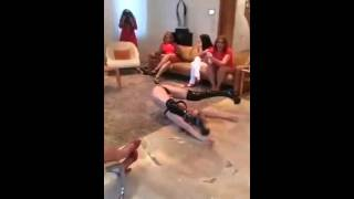 Iranian Stripper Twerking Dance in a Private Persian Party