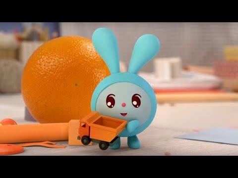 Малышарики - Бусики - серия 32 - обучающие мультфильмы для малышей 0-4