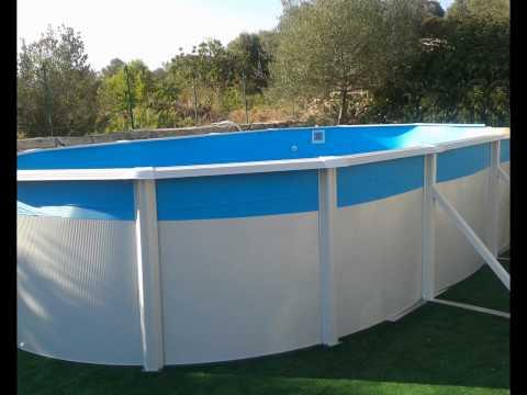 Piscina sobre suelo piscina ovalada gre toi fontyreg - Piscinas sobre suelo ...