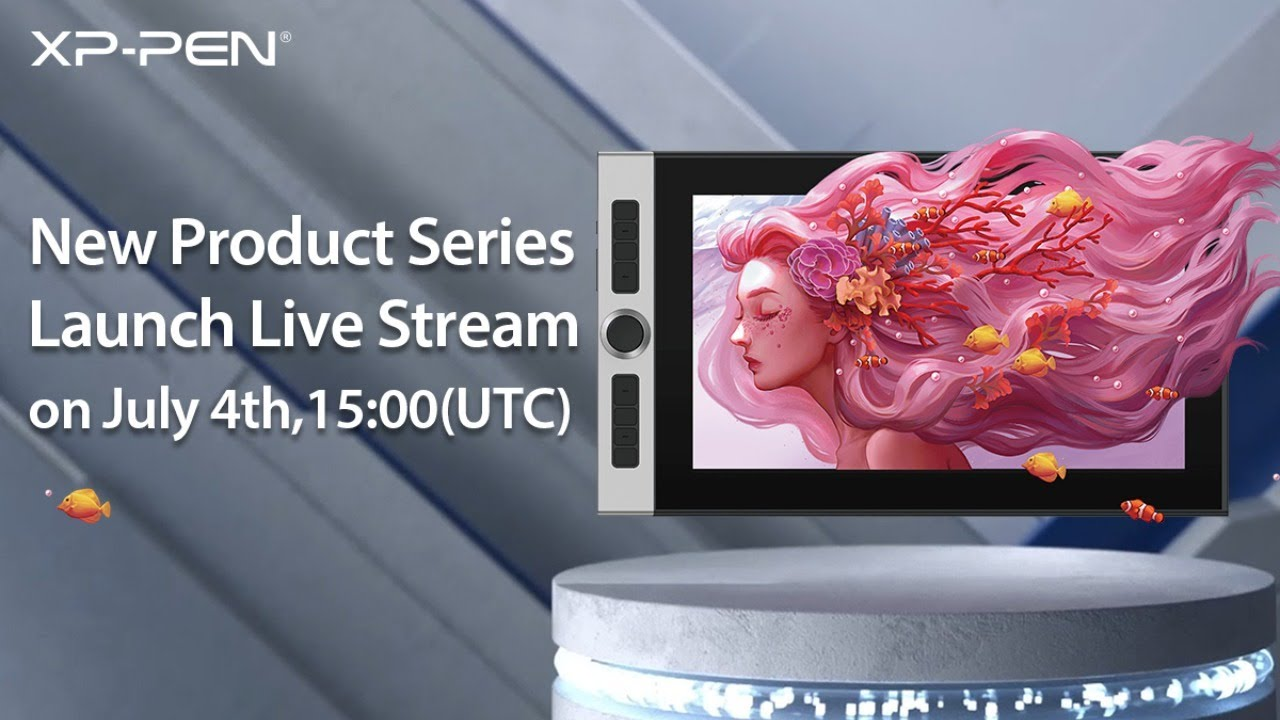 New Product Series Launch Live Stream on July 4th,15:00(UTC)