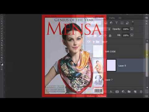Photoshop Tutorial: How to Make a Custom, Magazine Cover from a Photo of Someone