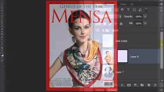 Photoshop: How to Make a Custom, Magazine Cover from a Photo of Someone