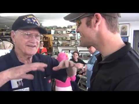 Military Museum Tour with Uncle Clifton - Houma, La. 3/13/13